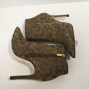 Jessica Simpson Shoes - NWT Jessica Simpson leopard print booties, 7